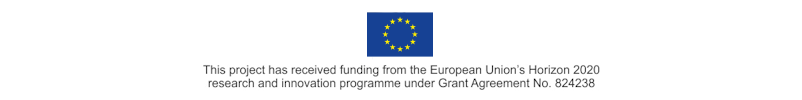 This project has received funding from the European Union's Horizon 2020 research and innovation programme under Grant Agreement No. 824238